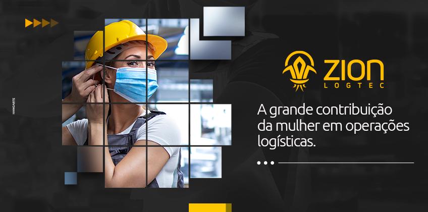 A grande contribuição da mulher em operações logísticas.